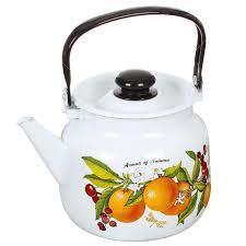 <b>Чайник эмалированный</b> ЛЗЭП Лысьва 27134П2 Фруктовая ...