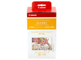 Купить <b>Canon RP</b>-<b>108 High</b>-<b>Capacity</b> Color Ink/<b>Paper</b> Set Multi ...