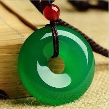 <b>Yu Xin Yuan Fine</b> Jewelry Natural Green Jade Medullary Pendant ...