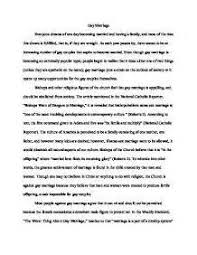 persuasive essay on gay marriage pro   mfacourses   web fc  compersuasive essay on gay marriage pro