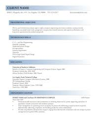 sample resume csample resume c
