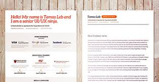 best free creative resume templates  updated psd visual resume template