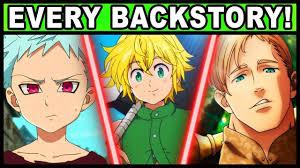 Every Sin's Backstory Explained! (<b>Seven Deadly Sins</b> / Nanatsu no ...
