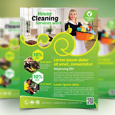 cleaning service flyer by design station graphicriver cleaning service flyer commerce flyers middot preview image set 01 preview1 jpg