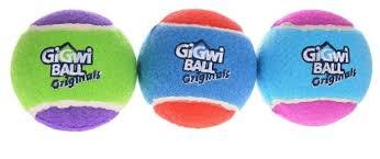 Набор <b>игрушек</b> для собак <b>GiGwi GiGwi ball</b> Original большой 3 шт ...