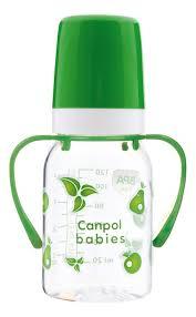 <b>Бутылочка тритановая с ручками</b> (BPA 0%) 3+ 120мл (в ...