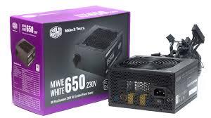 Обзор и тестирование <b>блока питания Cooler Master</b> MWE 650 ...