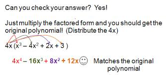 Factoring Polynomials   Using GCF factoring polynomials