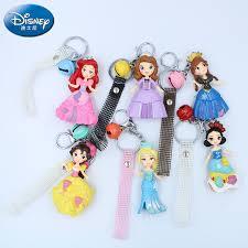 <b>Disney 6PCS</b>/Lot Princess Doll Key Link Hanging <b>frozen</b> Ice and ...