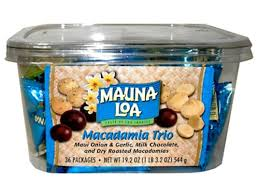 <b>Macadamia Trio</b> 36 Assorted Bite Size Packs