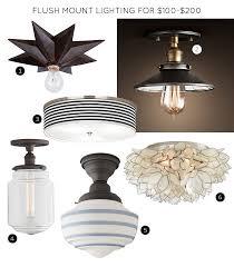 flush mount lighting fixtures for 100 200 awesome vintage industrial lighting fixtures remodel