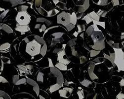 1500pcs 8mm Cup Sequins Black. Loose Sequins for ... - Amazon.com
