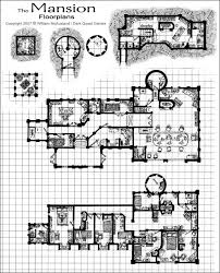 Medieval Fantasy Mansion  floor plan by William McAusland  RPG Art    Medieval Fantasy Mansion  floor plan by William McAusland  RPG Art  Bookcovers  Concept Art  ink  warriors  wizards  dungeon portals and more