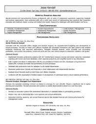 financial analyst resume   best resume exampleentry level financial analyst resume sample