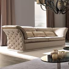 Button Couch Italian Designer Leather Button Upholstered Sofa Juliettes