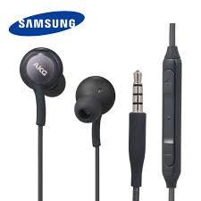 SAMSUNG <b>AKG</b> Headphones <b>In line</b> Control with Mic <b>3.5mm Wired</b> ...