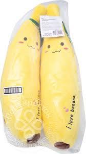 Купить Подушка Home Queen <b>Бананчик</b> декоративная 52см с ...