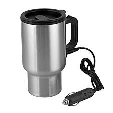 12V Car Heating Cup Car Heated Mug, 450ml ... - Amazon.com