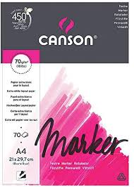Canson Marker A4 pad Including 70 Sheets of 70gsm ... - Amazon.com