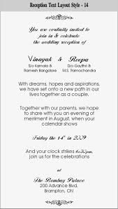 wedding reception invitations templates info wedding reception invitation format