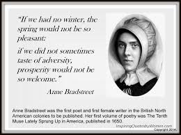 Supreme 17 suitable quotes by anne bradstreet images German via Relatably.com