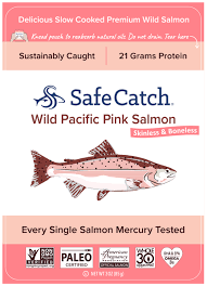 WILD <b>PACIFIC PINK SALMON SKINLESS</b> & BONELESS | The ...