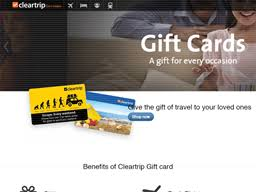 Cleartrip | Gift Card Balance Check | Balance Enquiry, Links ...