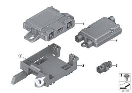 Детали телефония <b>беспроводная зарядка</b> BMW F16 SAC 56762