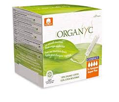 Organyc 100% Certified Organic Cotton Tampons, with <b>Compact</b>