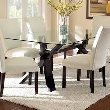 ideas glass dining table pinterest