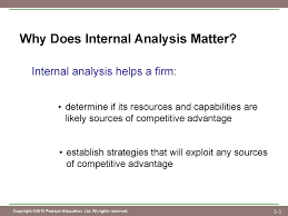 chapter evaluating a firm s internal capabilities  3