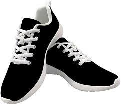 Dellukee Fashion Shoes for Women Men 2019 Black ... - Amazon.com