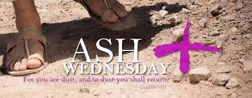 Image result for ash wednesday 2016