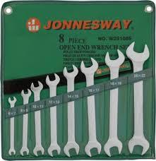 W25108S <b>Набор ключей гаечных рожковых</b> в сумке, 6-22 мм, 8 ...