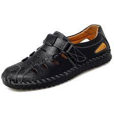 <b>IZZUMI</b> Hollow Out Breathable <b>Male Sandals</b> Black EU 42 <b>Men's</b> ...