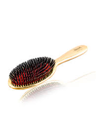 Buy <b>Janeke</b> Golden Classic <b>Hair Brush</b> With Nylon Bristles JK ...