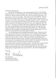 cooperating teacher letter of recommendation recommendation letters of recommendation references