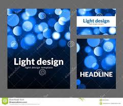 poster design template bokeh light effect vector modern card poster design template bokeh light effect vector modern card concept holiday flyer template