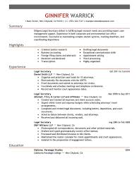 legal receptionist resume resume builder legal receptionist resume legal resume samples and tips for an effective resume legal secretary resume examples