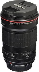 Canon EF 135mm f/2L USM Lens for Canon SLR ... - Amazon.com