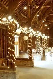 wedding fairy lights at the great barn in ruislip barn wedding lights