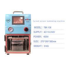 100% Original TBK TBK-108 <b>Vacuum OCA Laminating Machine</b> ...