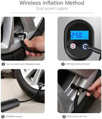 Flurries 150PSI Wireless <b>Electric</b> Car Bike Tire Inflator - <b>Smart</b> Air ...