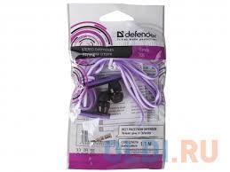 Наушники <b>Defender Trendy</b>-<b>705</b> Black/Purple — купить по лучшей ...