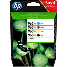 <b>Картридж струйный HP 963</b> 3YP35AE черный/голубой ...