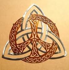 YA-60 Celtic <b>Tree</b> of Life Icon 18K <b>Gold Plated</b> Healing Grid ...