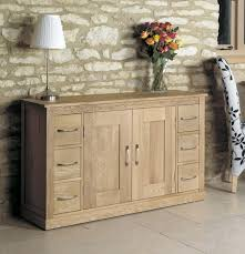 baumhaus mobel oak 6 drawer sideboard baumhaus mobel oak drawer