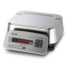 <b>Весы</b> фасовочные <b>CAS FW500</b>-<b>06E</b> до 6 кг влагостойкие ...