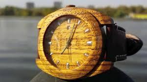 Наручные деревянные <b>часы AA</b> Wooden <b>Watches</b> S2 Zebrano ...