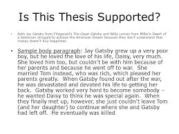 The Great Gatsby Death of a Salesman Analysis  The good  the bad     SlidePlayer